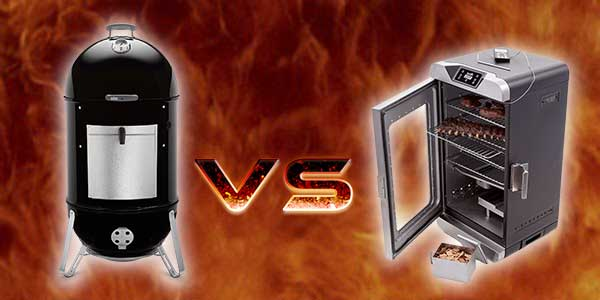 Charcoal Smoker vs Electric Smoker