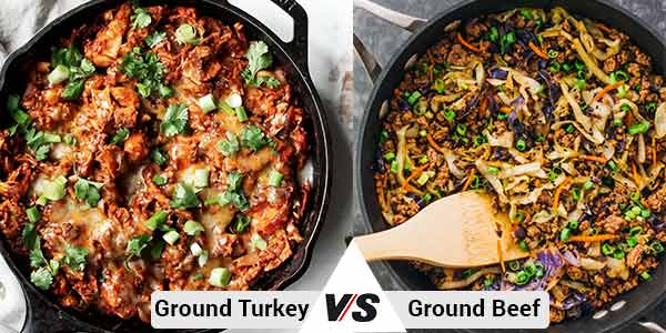 Ground Turkey vs Ground Beef