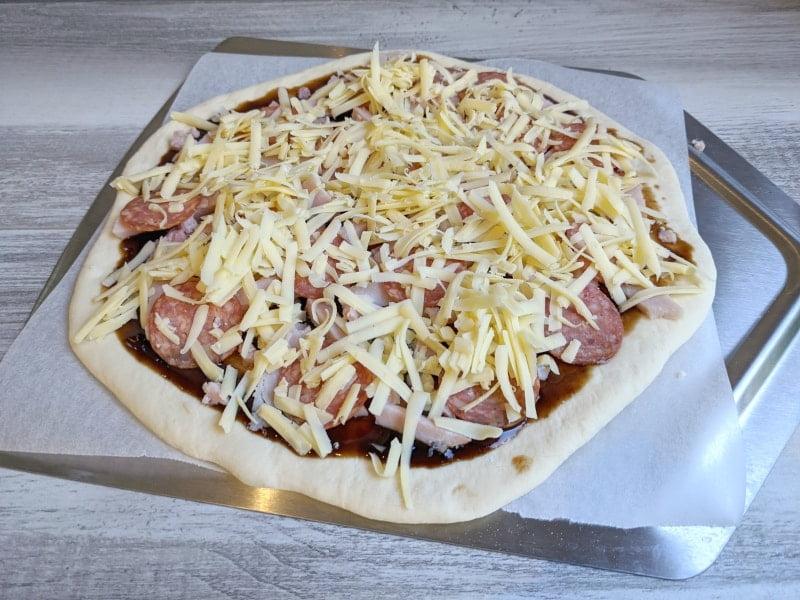 sourdough pizza ingredients