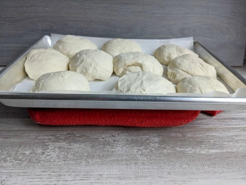how to make sourdough rolls