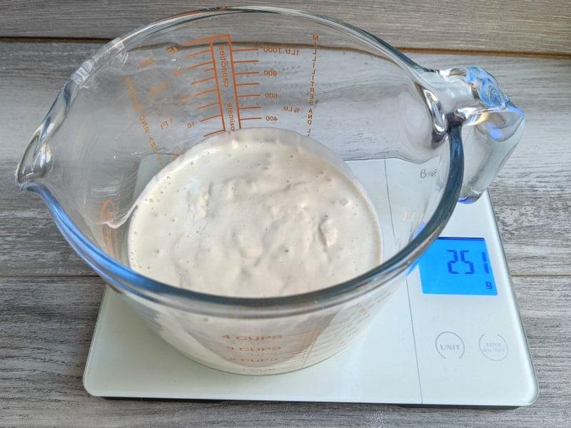 sourdough pancakes leftover starter