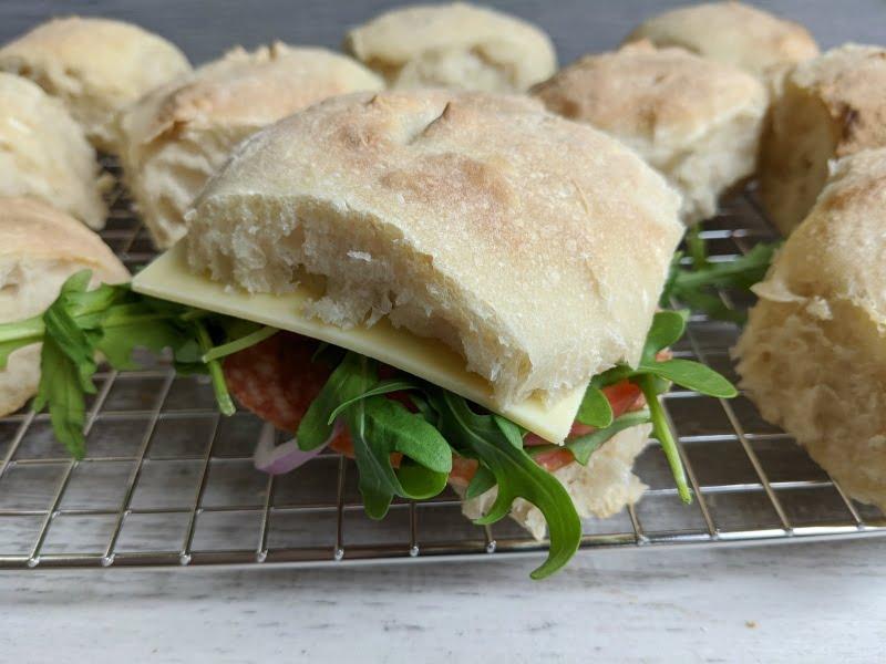 sourdough sandwich rolls