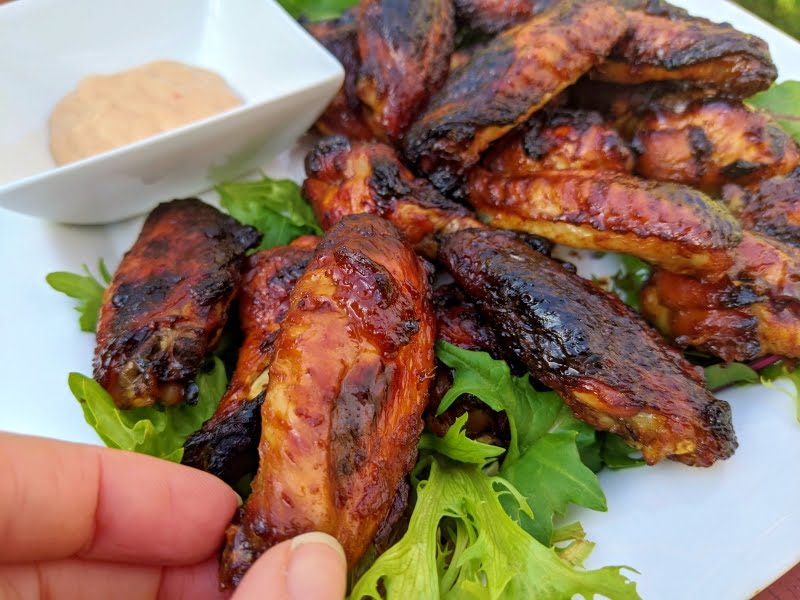perfect chicken wings in the oven