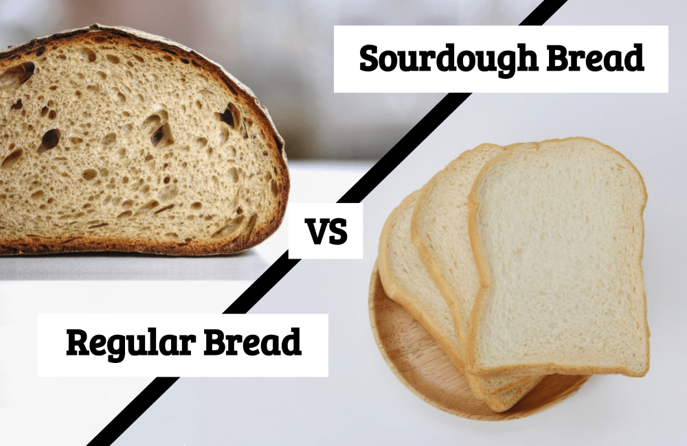 sourdough bread vs regular bread