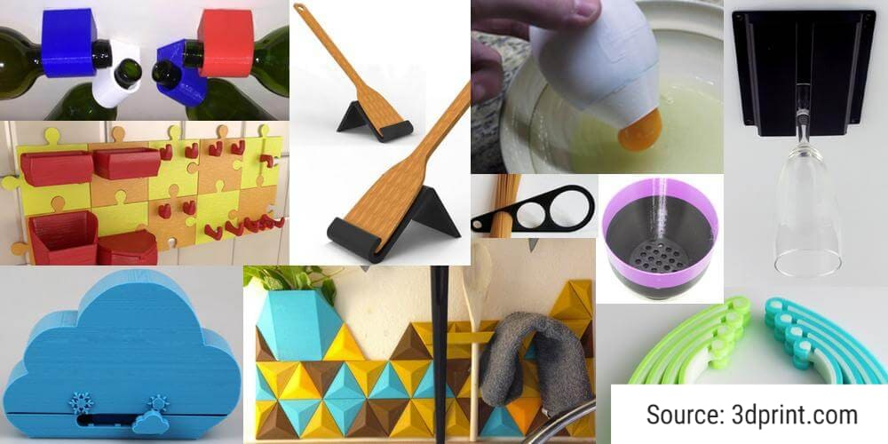 3d printed gadgets for kitchen